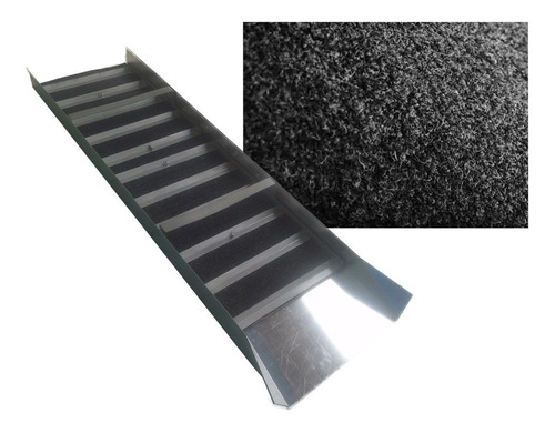 carpete garimpo cabelo de nego e calha eclusa 1,85mt x 50cm