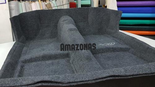 carpete moldado gol quadrado até 96 - grafite