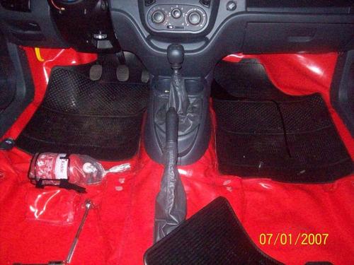 carpete verniz   cor  vermelho para prisma 2002/11