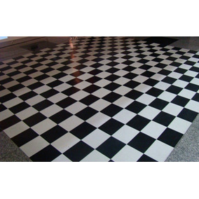 e97e8f3c0b954 Tapete Pista De Dança Xadrez - Carpetes no Mercado Livre Brasil