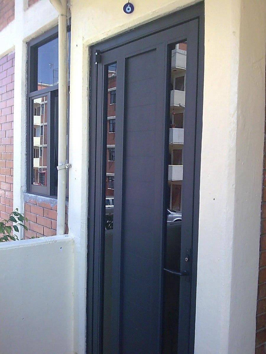 Carpinteria en aluminio como hacer puerta ligera 600 for Puertas en aluminio