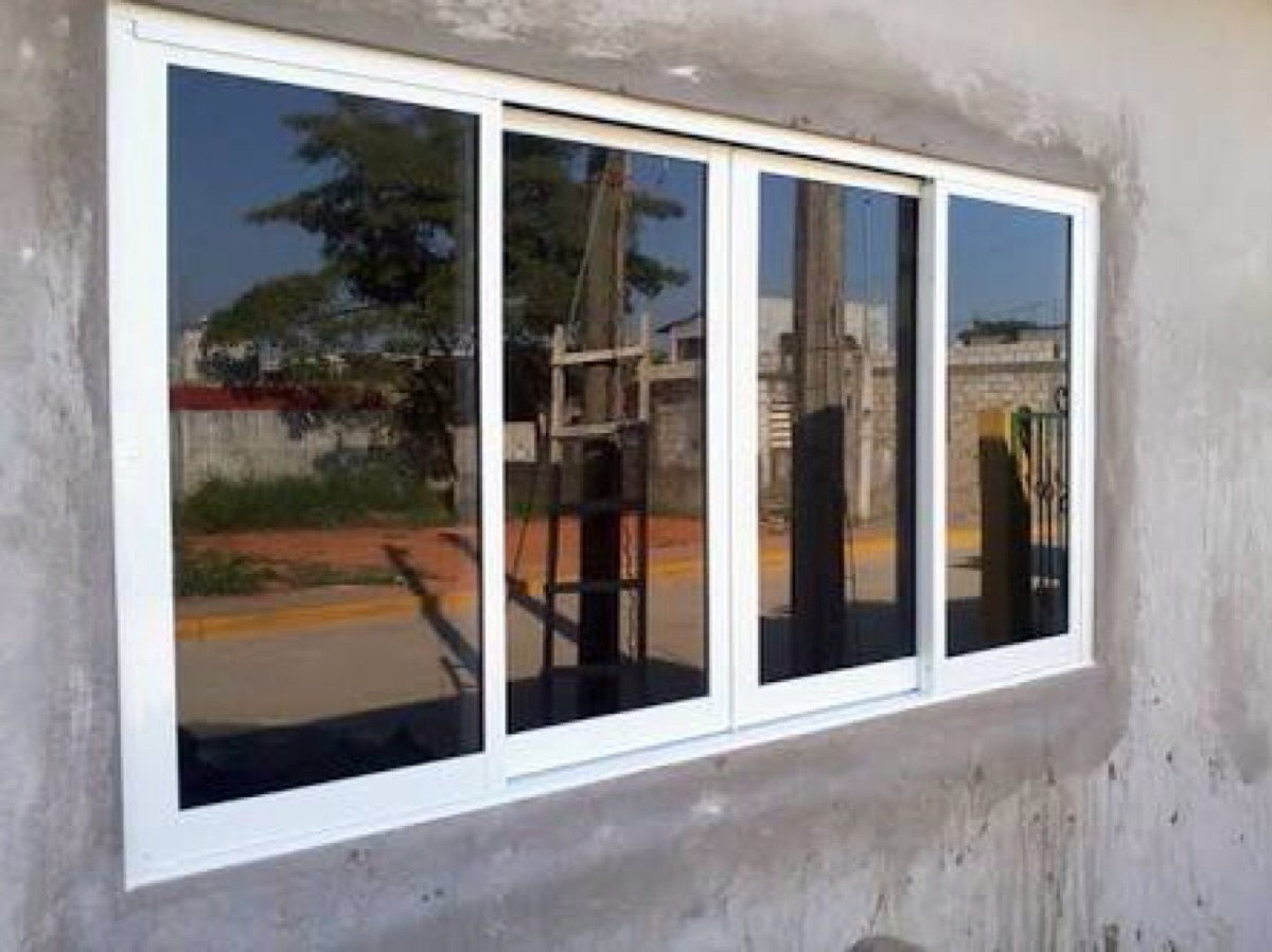 Carpinteria en aluminio como hacer ventanas de 4 hojas for Ventanas de aluminio economicas