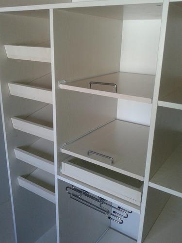 carpinteria- frentes e interiores de placard - vestidor