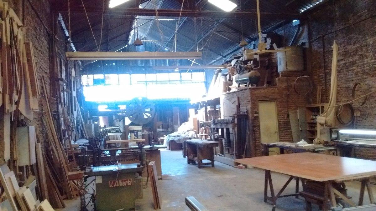 carpinteria y galpon en venta o alquiler