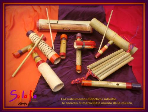 carpintero de bambu