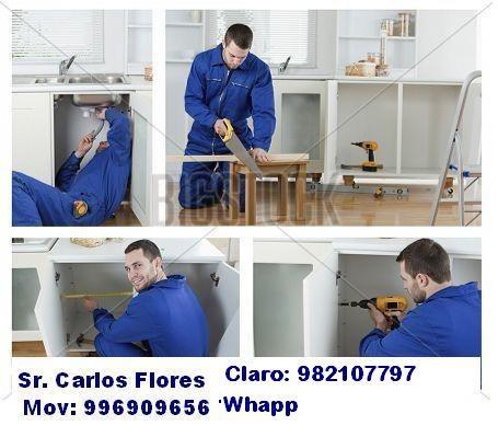 carpintero en melamina / electricista 982107797
