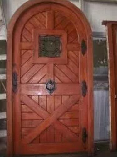 carpintero puertas, portones arreglos muebles en gral.