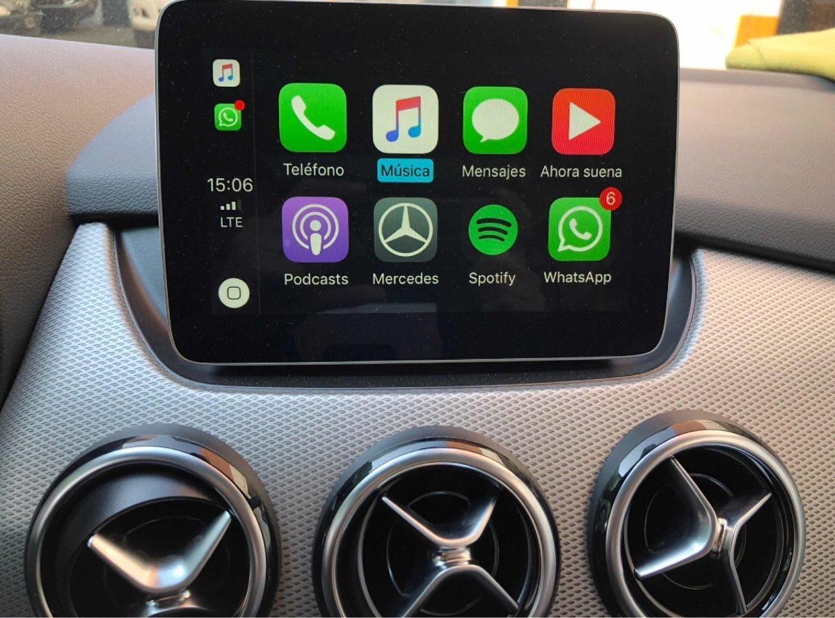 Carplay Y Android Auto Mercedes W205