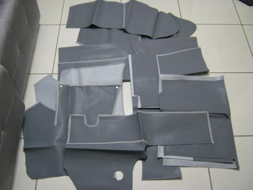 carrapatinho fusca até 74 extintor esquerdo 10 peças cinza