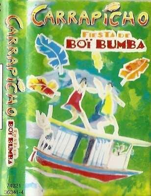 carrapicho fiesta de boi bumba 1996 brasil cassette