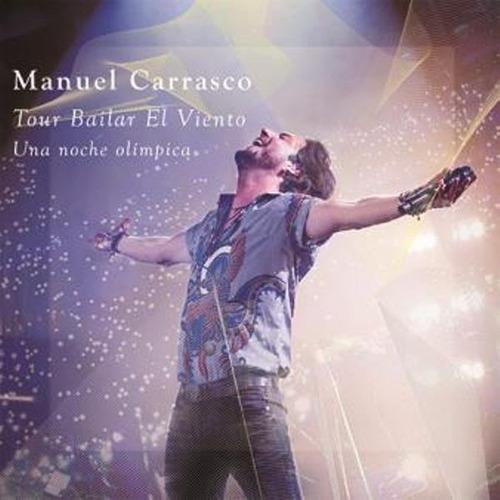 carrasco manuel tour bailar el viento cd + dvd nuevo