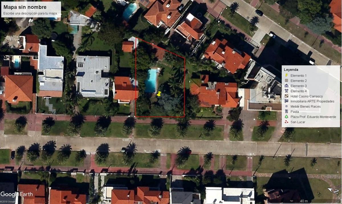 carrasco sur - calle san lucar - terreno en venta