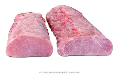 carré de cerdo deshuesado el kilo