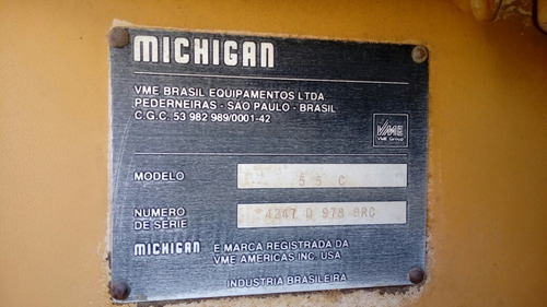 carregadeira michigan 55 c 1990