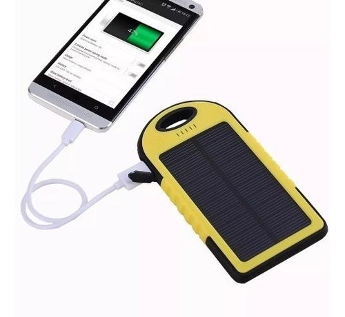 carregador a prova dagua energial solar 5000mah universal