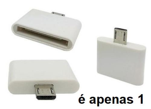 carregador adaptador dock iphone 4 em motorola samsung lg