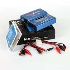 carregador balanceador imax b6ac turnigy lipo futaba life jr