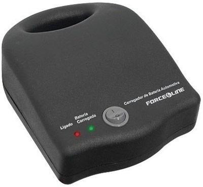 carregador bateria 12v forceline portátil - frete grátis