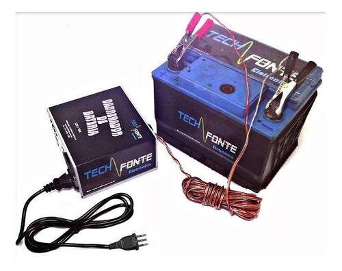 carregador bateria 12v moto carro carregador veicular