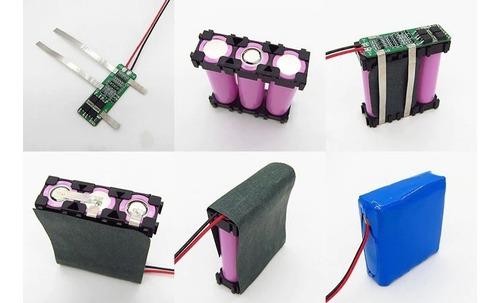 carregador bateria 3s 18650 bms litio 20a