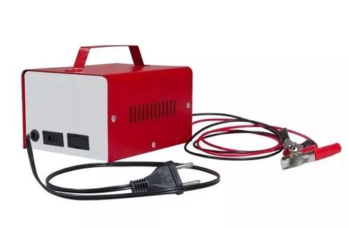 carregador bateria automotiva 12v 10ah flutuante cv10 flutua