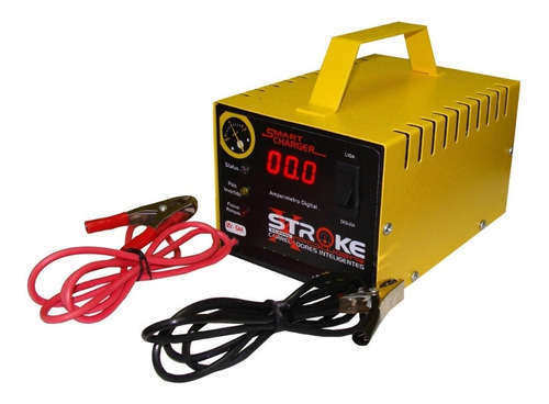 carregador bateria automotiva 12v 5ah digital flutuante som