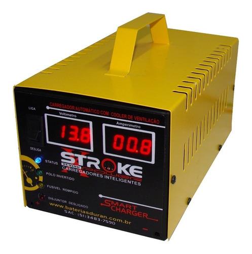 carregador bateria digital 30ah 24v flutuante frete grátis