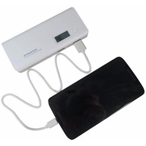 carregador bateria extra universal power bank usb 10.000mah
