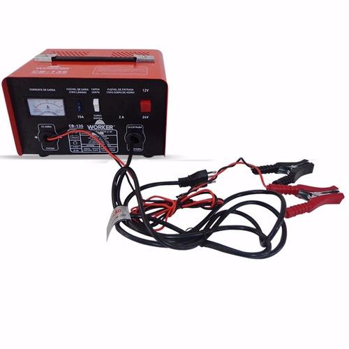 carregador bateria moto carro caminhão barco worker 220 v
