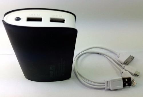 carregador bateria power bank 2800mah portátil usb p celular