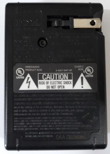 carregador bateria sony original 4.2v = 0.25a mod: bc-csg