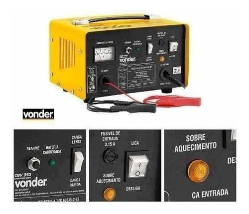 carregador bateria veiculo