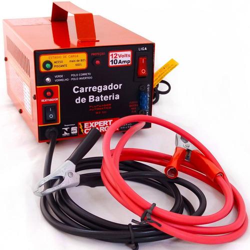 carregador baterias 12v-carga rápida e lenta- com reativador
