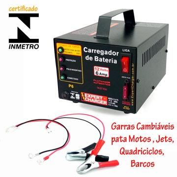 carregador baterias 12v - carro moto - 100% automático