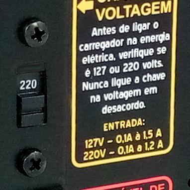 carregador baterias até