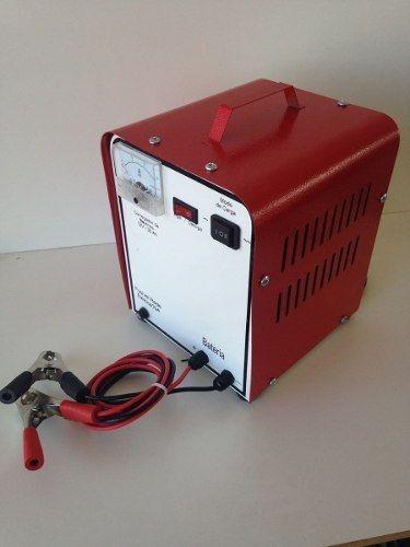 carregador baterias carro moto trator caminhão 12v 50ah 220v
