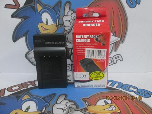 carregador camera digital dc83 li40b 42b