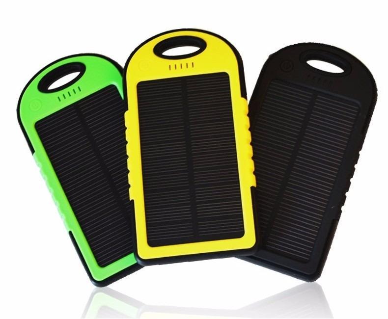 626ac866500 Carregador Celular Solar Usb Portátil Prova Dágua Power Bank - R$ 35 ...