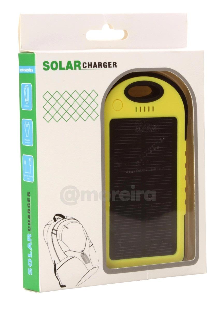 8781892e516 carregador celular solar usb portátil prova dágua power bank. Carregando  zoom.