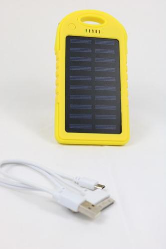 33bcb71a2e4 Carregador Celular Solar Usb Portátil Prova Dágua Power Bank - R$ 26 ...