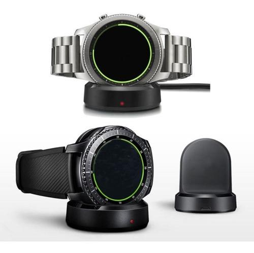 carregador compatível com samsung gear s3 frontier / classic