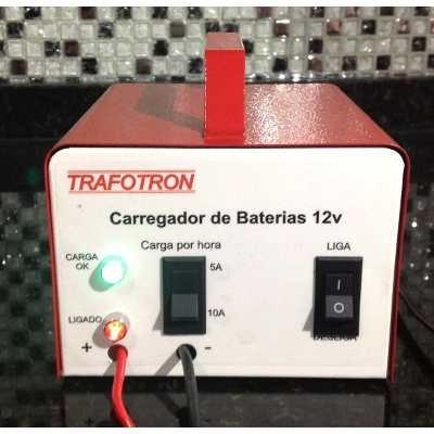 carregador de bateria 12v até 300amperes 10ah