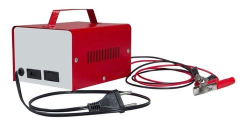 carregador de bateria 12v carro e moto 20ah com voltimetro