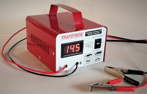 carregador de bateria 12v  não precisa desligar cv 5