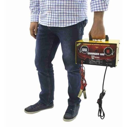carregador de bateria automotiva charger 100 12v bivolt
