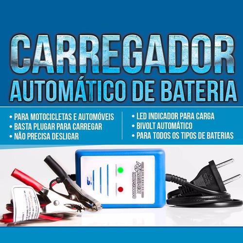 carregador de bateria automotivo carro moto 12v 150 amperes