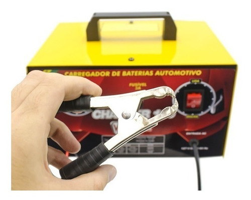 carregador de bateria bivolt 12v charger 100 v8 brasil