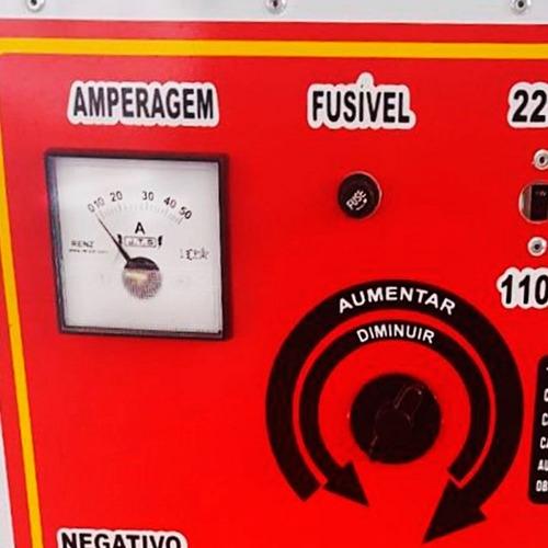 carregador de bateria jts-003 50a