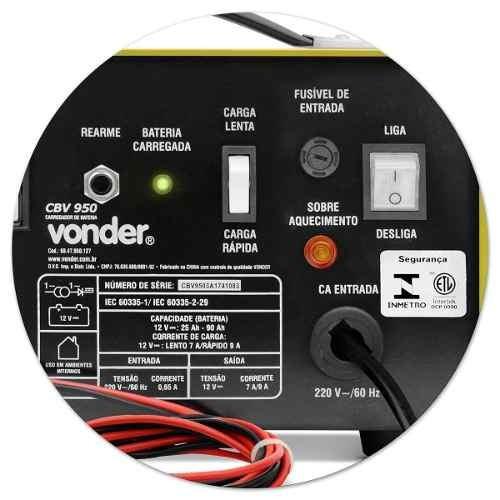 carregador de bateria p/ moto carro lento 7,0 / 220v  rápido