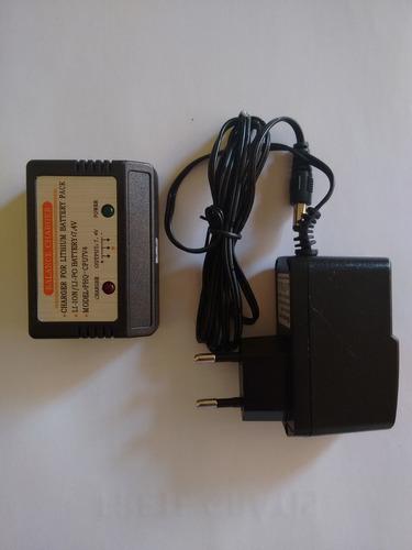 carregador de bateria para helicopteto t- 23